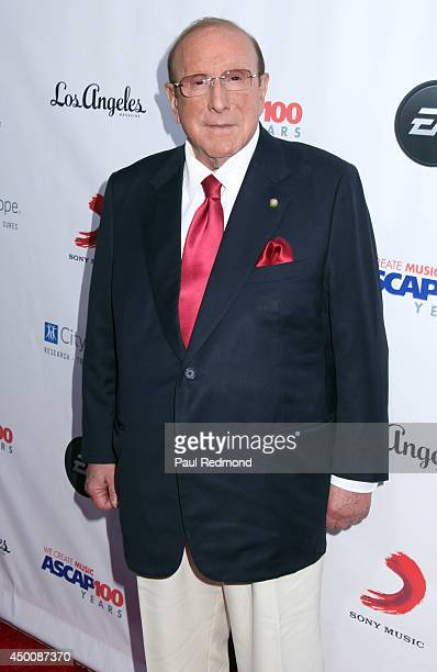 Record executive Clive Davis arriving at Songs Of Hope X 10th Anniversary Event Benefiting City Of Hope at House of Fair on June 4, 2014 in...