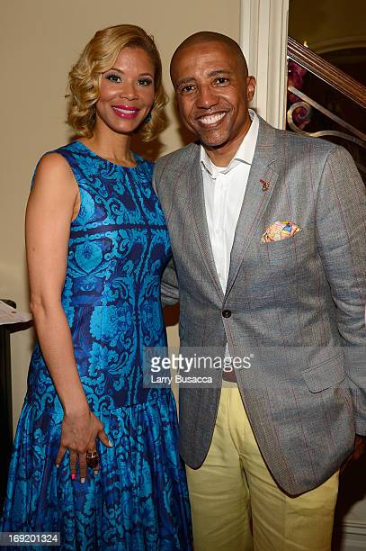 Record Executive Kevin Liles and Erika Liles attend the 2013 Peace Love A Cure Triple Negative Breast Cancer Foundation Benefit on May 21 2013 in...
