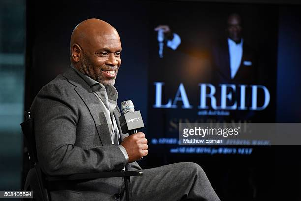 Record executive LA Reid discusses his new memoir 'Sing to Me My Story of Making Music Finding Magic and Searching for Who's Next' at AOL Studios In...