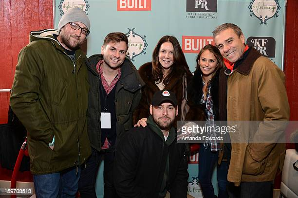 Record Executive Scooter Braun attends Day 1 of the Kari Feinstein Style Lounge on January 18 2013 in Park City Utah
