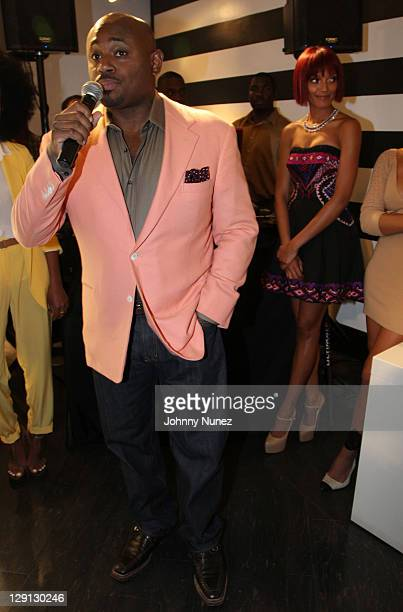 Record Executive Steve Stoute attends the Carol's Daughter Spokesbeauty Monoi Repairing Collection launch at Sephora on May 24 2011 in New York City