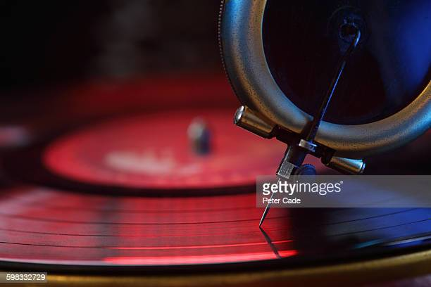 record player needle, vinyl - deck stock pictures, royalty-free photos & images
