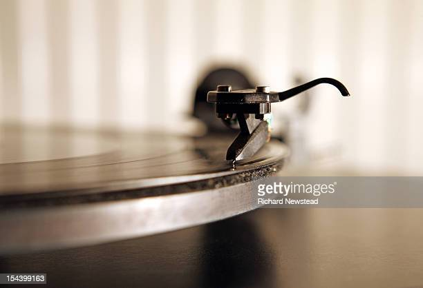 record player - saffier stockfoto's en -beelden