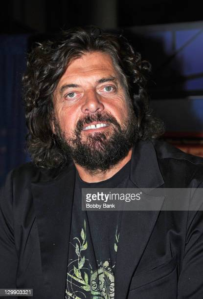 Record producer Alan Parsons attends the 131st Audio Engineering Society Convention at Jacob Javits Center on October 21 2011 in New York City