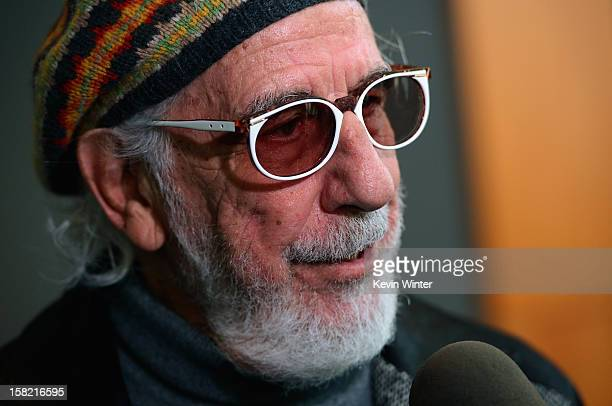 Record producer and Ahmet Ertegun Award recipient Lou Adler attends the press conference for the Rock and Roll Hall of Fame 2013 Inductees...