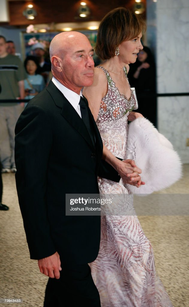 Record producer and philanthropist David Geffen arrives at the White House Correspondents' Association Dinner in April 21, 2007 in Washington, DC.