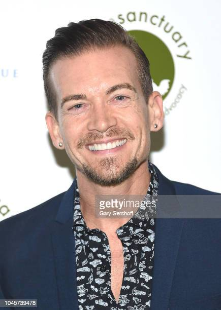 Record producer and songwriter Damon Sharpe attends the 2018 Farm Sanctuary Gala at Pier Sixty at Chelsea Piers on October 4 2018 in New York City