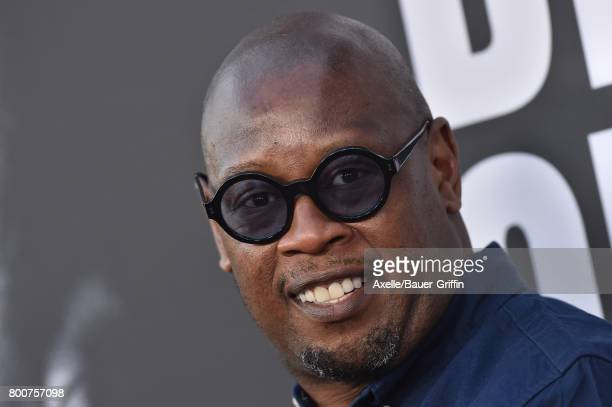 Record producer Andre Harrell arrives at the premiere of 'The Defiant Ones' at Paramount Theatre on June 22, 2017 in Hollywood, California.