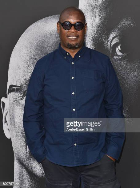 Record producer Andre Harrell arrives at the premiere of 'The Defiant Ones' at Paramount Theatre on June 22 2017 in Hollywood California