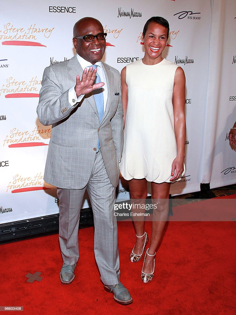 Record producer Antonio 'L.A.' Reid and wife Erica Reid attend the 1st annual Steve Harvey Foundation gala at Cipriani, Wall Street on May 3, 2010 in New York City.