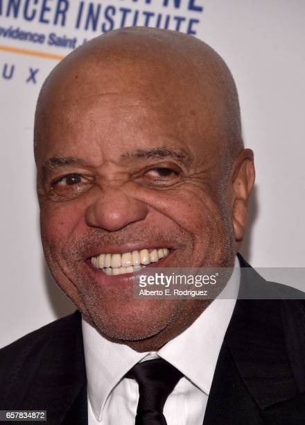 Record producer Berry Gordy attends John Wayne Cancer Institute Auxiliary's 32nd annual Odyssey Ball at the Beverly Wilshire Four Seasons Hotel on...