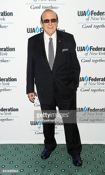 Record producer Clive Davis attends the 2016 UJAFederation of New York's Music Visionary of the Year Award luncheon at The Pierre Hotel on June 16...
