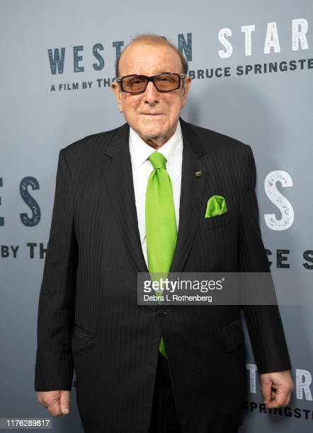 US record producer Clive Davis attends the New York special screening of Western Stars at Metrograph on October 16 2019 in New York City