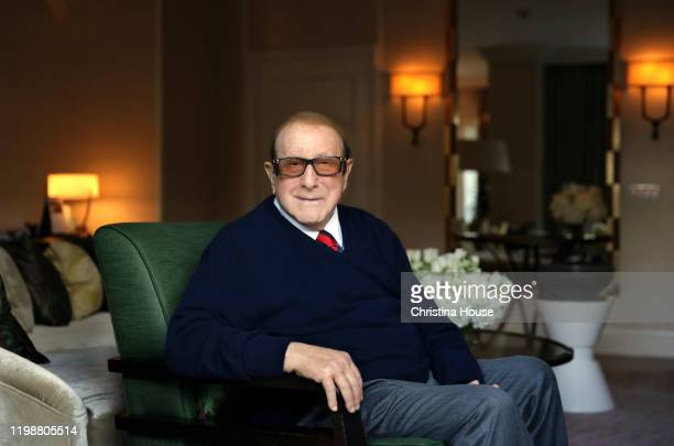 Record producer Clive Davis is photographed for Los Angeles Times on January 21 2020 in Beverly Hills California PUBLISHED IMAGE CREDIT MUST READ...