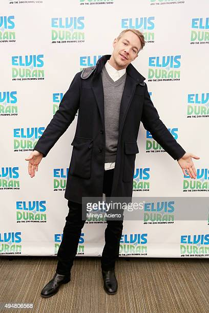 Record producer Diplo visits The Elvis Duran Z100 Morning Show at Z100 Studio on October 28 2015 in New York City