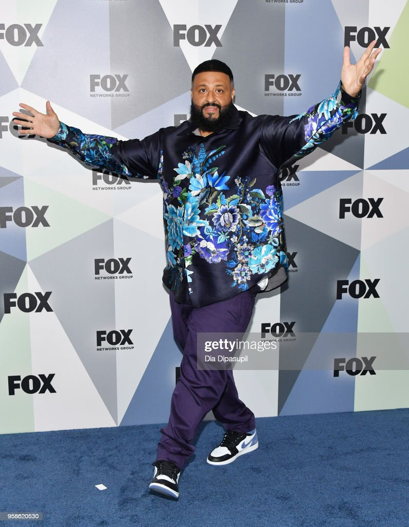 Record producer DJ Khaled attends the 2018 Fox Network Upfront at Wollman Rink, Central Park on May 14, 2018 in New York City.