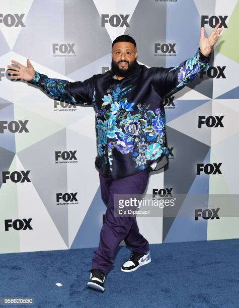 Record producer DJ Khaled attends the 2018 Fox Network Upfront at Wollman Rink Central Park on May 14 2018 in New York City