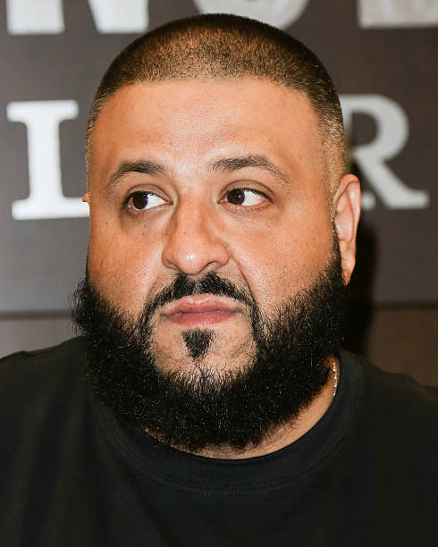 Record Producer DJ Khaled Signs Copys Of His New Book The Keys At Barnes