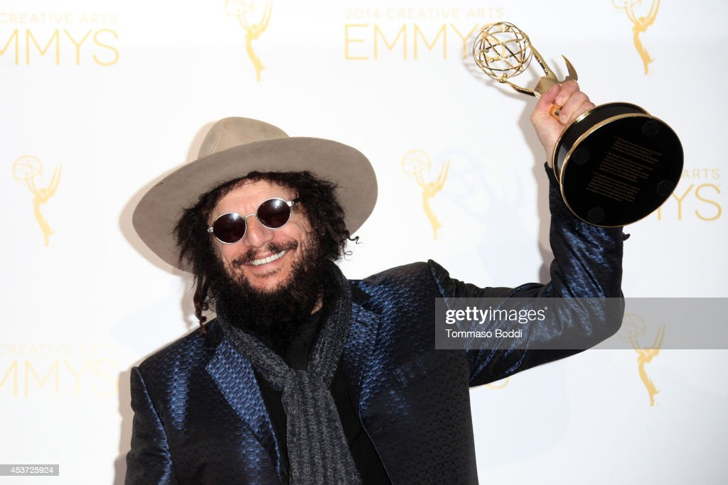 2014 Creative Arts Emmy Awards - Press Room : News Photo