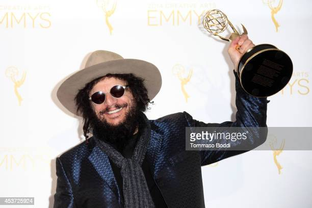 Record producer Don Was attends the 2014 Creative Arts Emmy Awards press room held at the Nokia Theatre LA Live on August 16 2014 in Los Angeles...