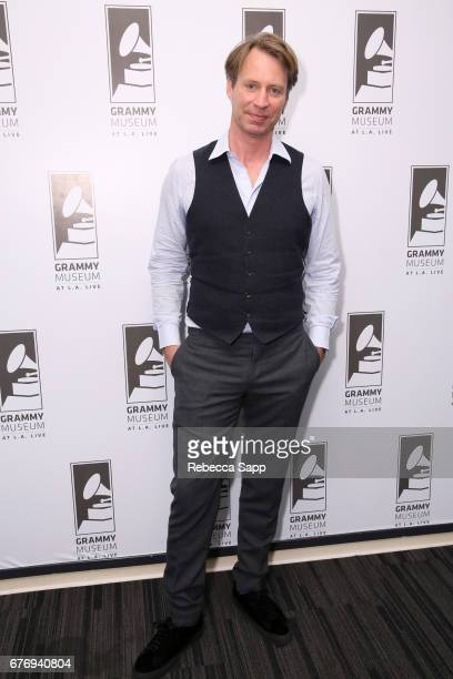 Record producer Giles Martin attends Celebrating 50 Years of Sgt Pepper's Lonely Hearts Club Band at The GRAMMY Museum on May 2 2017 in Los Angeles...
