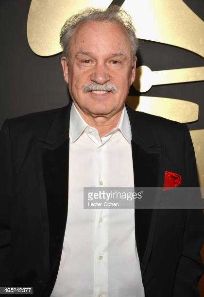 Record producer Giorgio Moroder attend the 56th GRAMMY Awards at Staples Center on January 26 2014 in Los Angeles California