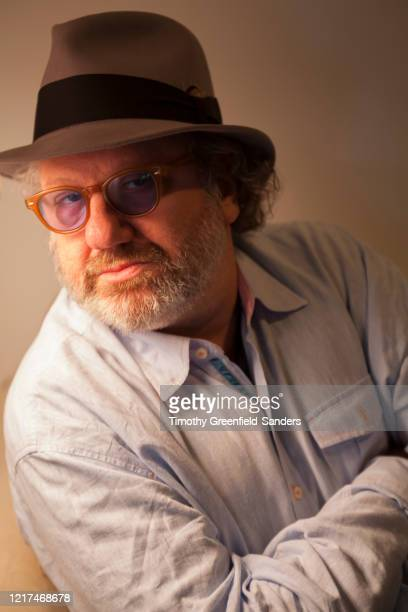 Record producer Hal Willner poses for a portrait in 2011 at Timothy GreenfieldSander's studio in New York City