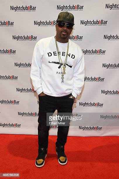 Record producer Jermaine Dupri attends the 30th annual Nightclub Bar Convention and Trade Show at the Las Vegas Convention Center on April 1 2015 in...