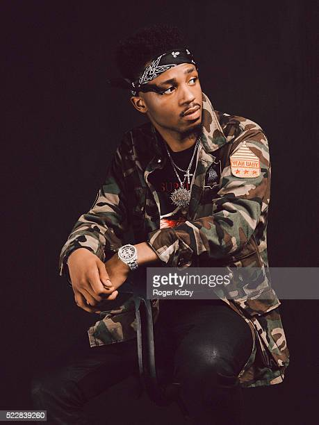 Record producer Metro Boomin poses for a portrait backstage at FADER FORT presented by Converse during SXSW on March 16 2016 in Austin Texas