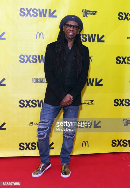 Record Producer Nile Rodgers attends the Music Keynote during 2017 SXSW Conference and Festivals at Austin Convention Center on March 15 2017 in...