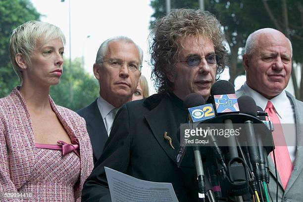 Record Producer Phil Spector was indicted today for the murder of movie actress and House of Blues hostess Lana Clarkson Spector read a prepared...