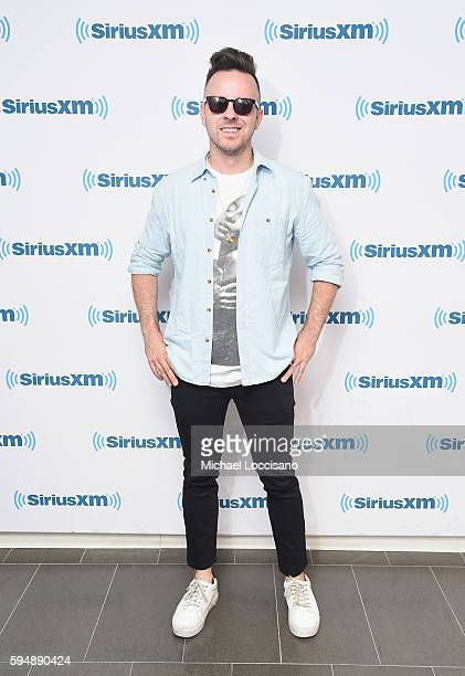 Record producer Ricky Reed visits SiriusXM Studios on August 24 2016 in New York City