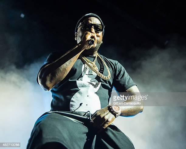 Record Producer/rapper Young Jeezy performs during the Third Annual Under The Influence Of Music Concert at Susquehanna Bank Center on July 25, 2014...