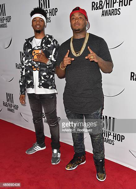 Record producers Metro Boomin and Southside attend the 2015 BMI RB/Hip Hop Awards at Saban Theatre on August 28 2015 in Beverly Hills California