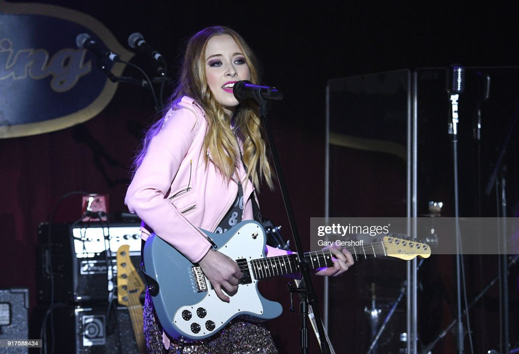Recordin artist Kalie Shorr performs during CMT Next Women of Country at B.B. King Blues Club & Grill on February 12, 2018 in New York City.