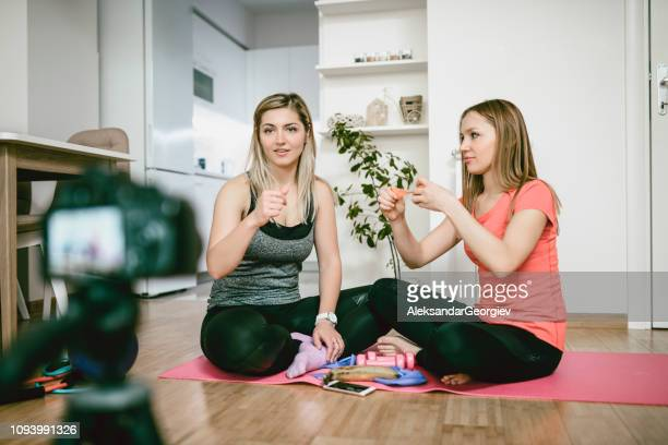 Recording a New Yoga Vlog