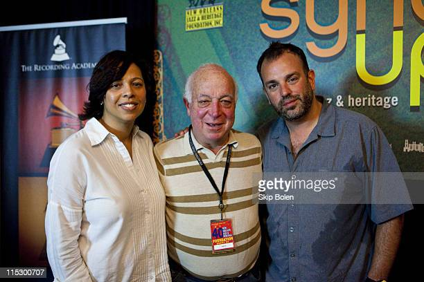Recording Academy executive Angelia BibbsSanders Founder of Sire Records Seymour Stein and head of music for Grey Worldwide Advertising Agency Josh...