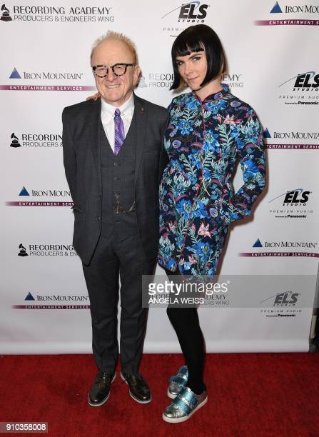 Recording Academy Los Angeles Chapter President Peter Asher and Victoria Asher attend the Recording Academy Producers Engineers Wing 11TH annual...
