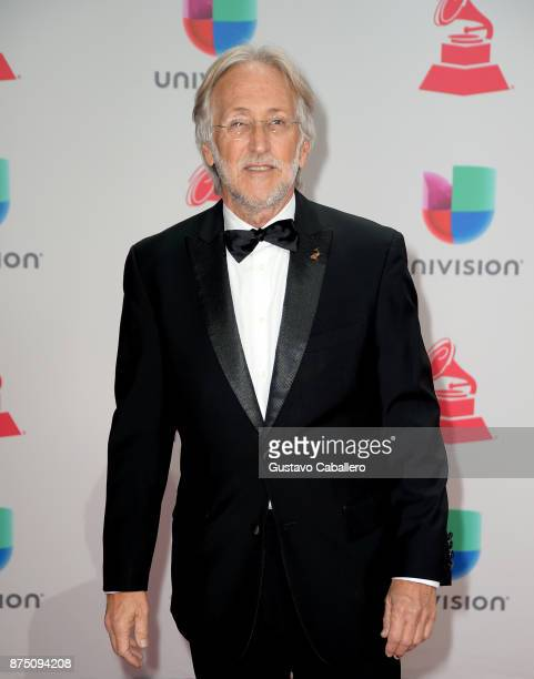 Recording Academy President Neil Portnow attends the 18th Annual Latin Grammy Awards at MGM Grand Garden Arena on November 16 2017 in Las Vegas Nevada