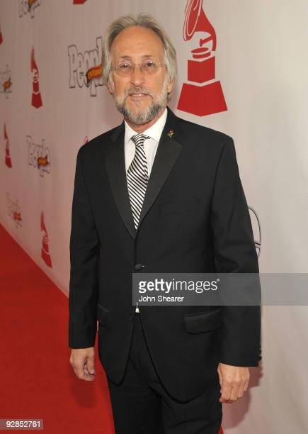 Recording Academy President Niel Portnow arrives at the 10th Annual Latin GRAMMY Awards after party held at the Mandalay Bay Convention Center on...