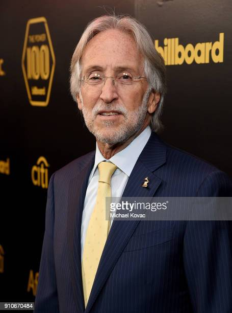 Recording Academy President/CEO Neil Portnow attends the 2018 Billboard Power 100 celebration at Nobu 57 on January 25 2018 in New York City