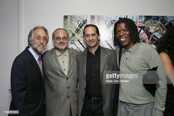 Recording Academy President/CEO Neil Portnow Vice Chairman of the Recording Academy Neil Tesser David Grossman of the Recording Academy and XM...