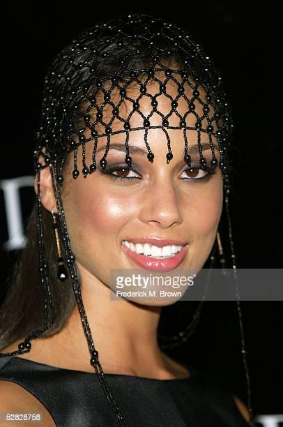 Recording Alicia Keys attends Oprah Winfrey's Legends Ball at the Bacara Resort and Spa on May 14 2005 in Santa Barbara California