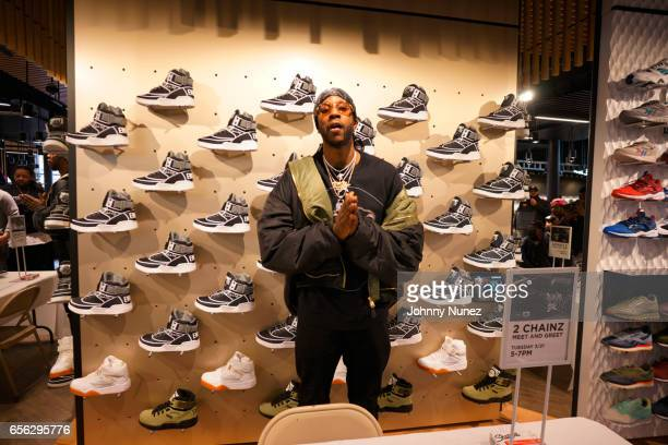 Recording artist 2 Chainz attends the 2 Chainz Ewing sneaker release at Jimmy Jazz on March 21 2017 in New York City