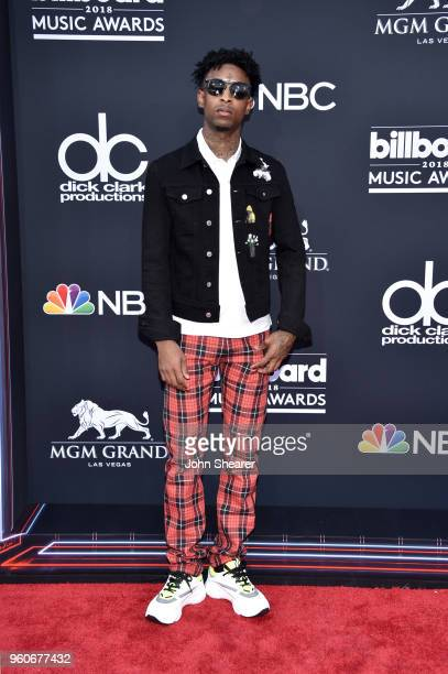 Recording artist 21 Savage attends the 2018 Billboard Music Awards at MGM Grand Garden Arena on May 20 2018 in Las Vegas Nevada
