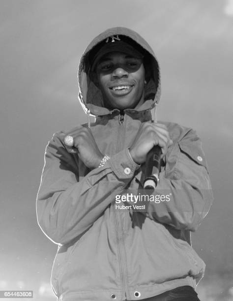Recording artist A Boogie wit da Hoodie performs onstage at the Mass Appeal music showcase during 2017 SXSW Conference and Festivals at Stubbs on...