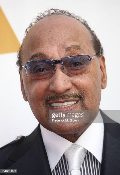 Recording artist Abdul 'Duke' Fakir attends The Recording Academy's Special Merit Awards Ceremony at the Wilshire Ebell Theater on February 7 2009 in...