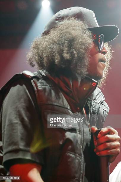 Recording artist AbSoul performs at The Documentary 10th anniversary party and concert on January 18 2015 in Los Angeles California