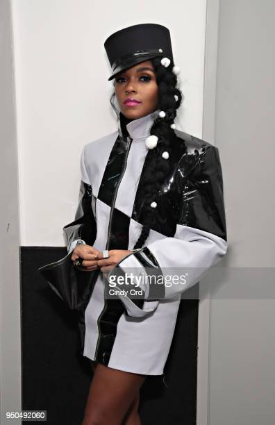 Recording artist/ actress Janelle Monae attends the 'Dirty Computer' screening at The Film Society of Lincoln Center Walter Reade Theatre on April 23...