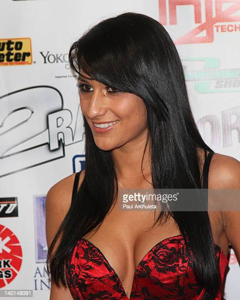 Recording Artist / Actress Lexy Panterra attends the Born 2 Race Los Angeles premiere at Grauman's Chinese Theatre on February 28 2012 in Hollywood...